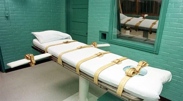 غرفة إعدام في سجن أمريكي (أرشيف)
