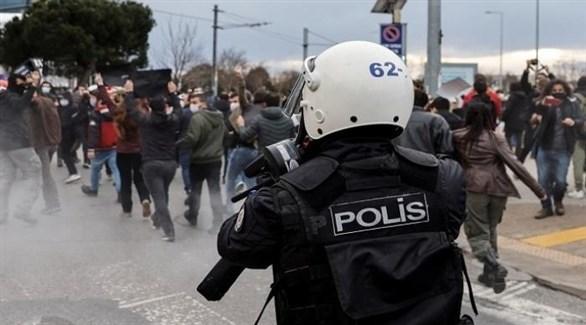 طلبة جامعة البوسفور يتظاهرون ضد تعيين مقرب من أردوغان على رأس جامعتهم (أرشيف)