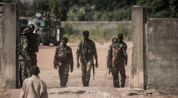 جنود سنغاليون على الحدود مع غامبيا (أرشيف)