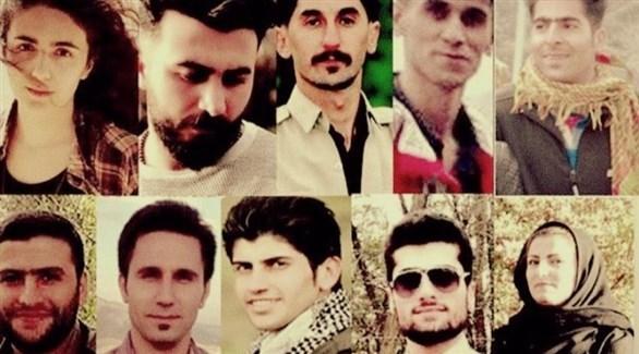 الأكراد المتوقع اعتقالهم في إيران (إيران إينترنشال)