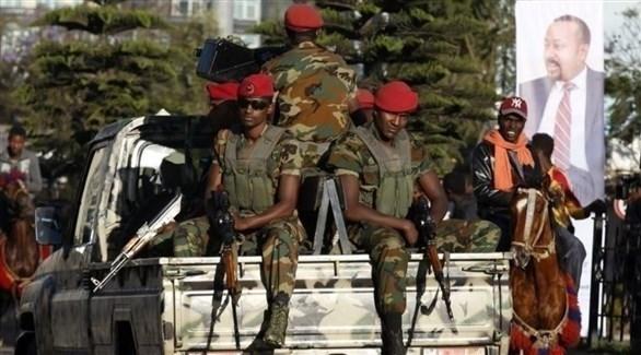 عناصر من الجيش الإثيوبي في تيغراي (أرشيف)
