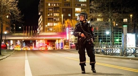 عنصر من الشرطة النرويجية (رويترز)