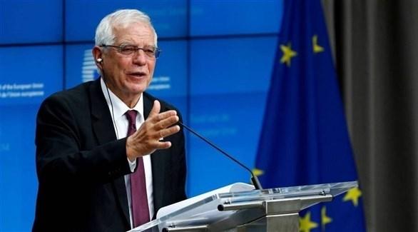 كبير مسؤولي السياسة الخارجية بالإتحاد الأوروبي جوسيب بوريل (أرشيف)