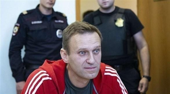 المعارض الروسي ألكسي نافالني (أرشيف)