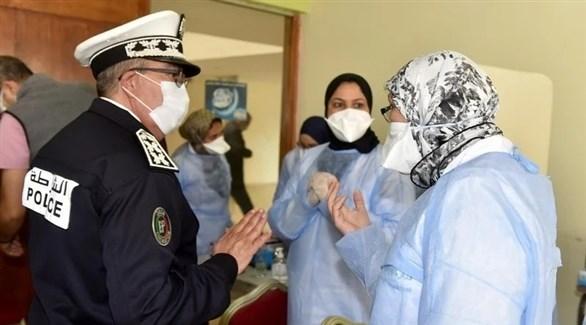 عنصر من الشرطة داخل أحد مراكز في المغرب (هسبريس)