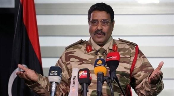 الناطق العسكري باسم الجيش الليبي اللواء أحمد المسماري (أرشيف)