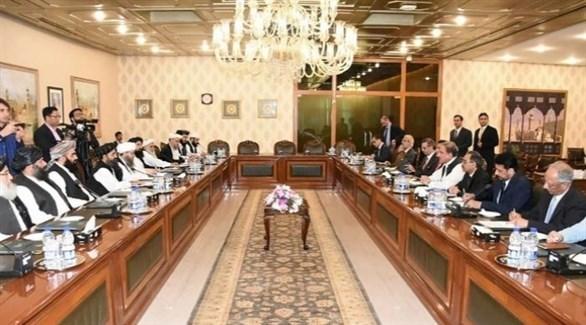 محادثات سابقة بين طالبان والحكومة الأفغانية (أرشيف)