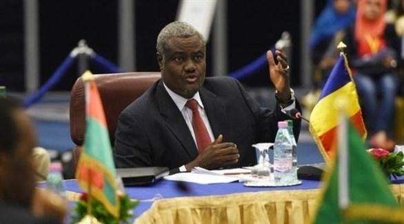 موسى فكي محمد رئيس مفوضية الاتحاد الأفريقي (أرشيف)
