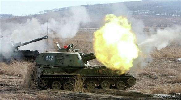 مدفعية تابعة للجيش السوري (أرشيف)