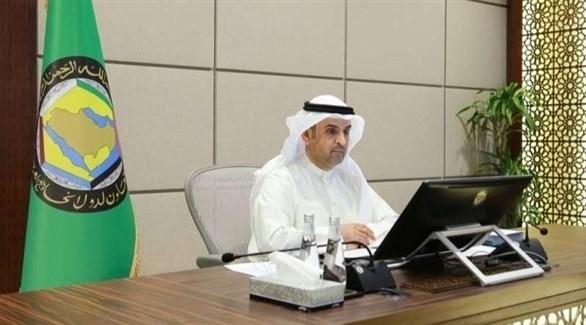 الأمين العام لمجلس التعاون الخليجي نايف الحجرف (أرشيف)