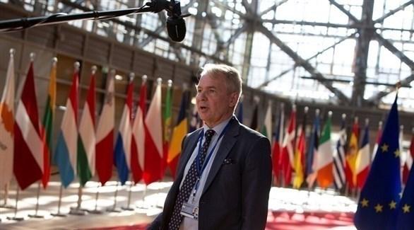 وزير الخارجية الفنلندي بيكا هافيستو (أرشيف)
