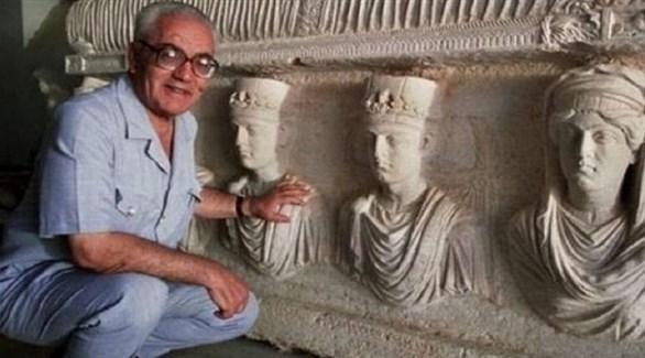 عالم الآثار خالد الأسعد (أرشيف)