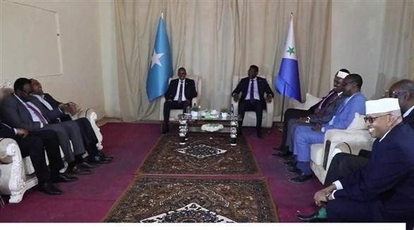 مفاوضات حول إجراء الانتخابات في الصومال (أرشيف)
