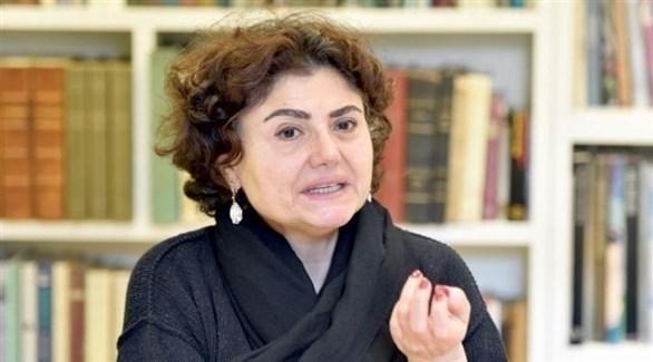 شقيقة الباحث اللبناني المغتال، رشا الأمير (أرشيف)