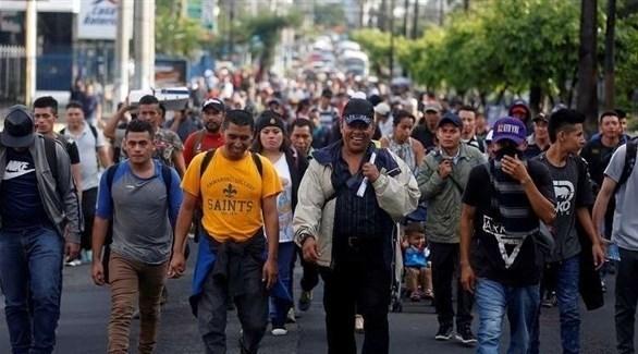 مهاجرون من السلفادور في طريقهم للولايات المتحدة (أرشيف)