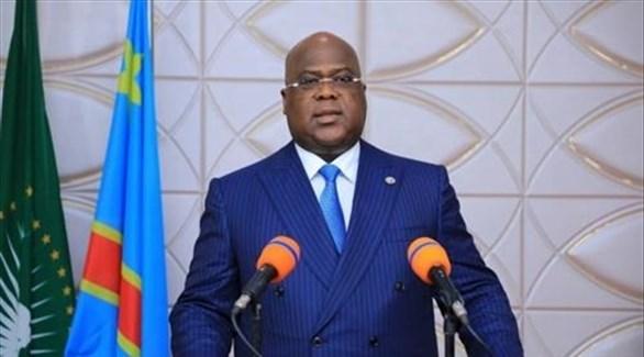 رئيس الكونغو فيليكس تشيسيكيدي (أرشيف)