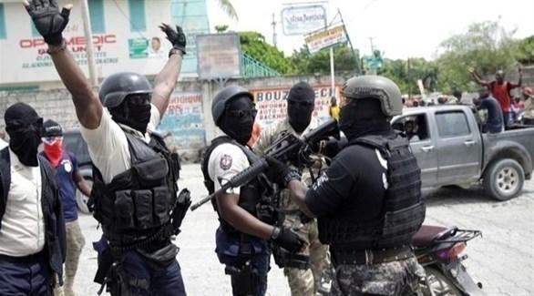 عناصر من الشرطة في هايتي (أرشيف / رويترز)
