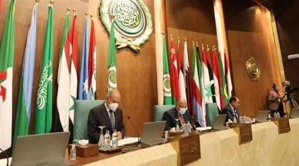 جانب من اجتماع في مقر الجامعة العربية (أرشيف)