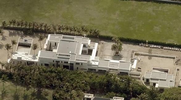 القصر الفخم في فلوريدا الأمريكية (تويتر)