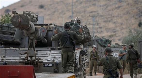 الجيش الإسرائيلي على حدود لبنان (أرشيف)