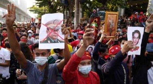 احتجاجات في ميانمار (أرشيف)