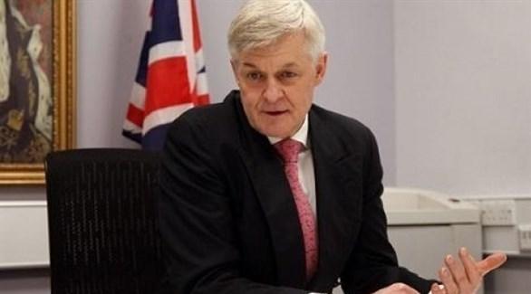 السفير البريطاني في تونس إدوارد أوكدن (أرشيف)