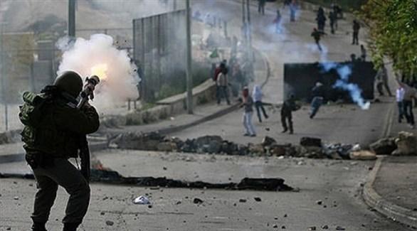 مواجهات بين فلسطينين وجنود إسرائيلين في الضفة الغربية (أرشيف)