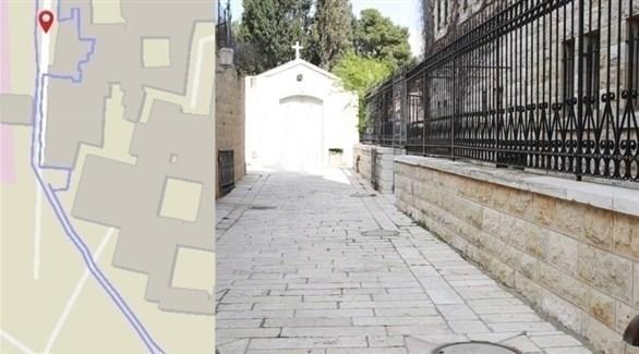 نفق سري بنته الكنيسة في جبل صهيون أخفته بلدية القدس (جيروزاليم بوست)