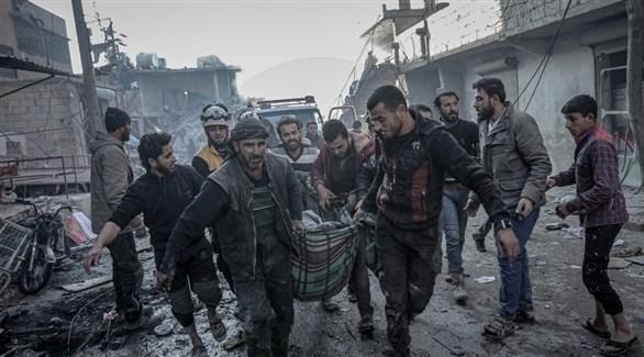 نقل ضحايا وجرحى الاشتباكات والقصف في سوريا إلى مناطق آمنة (أرشيف)