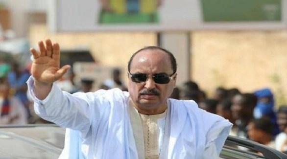 الرئيس الموريتاني السابق محمد ولد عبد العزيز (أرشيف)