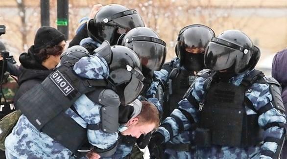 الأمن الروسي يعتقل معارضين (أرشيف)