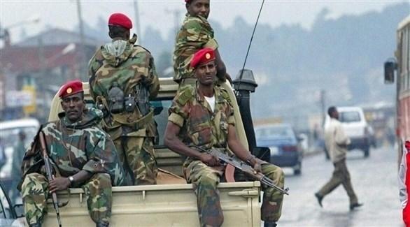 عناصر من الجيش الإثيوبي (أرشيف)