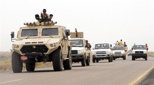 عناصر ومركبات تابعة للجيش الوطني اليمني (أرشيف)