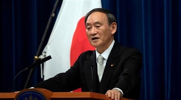 رئيس الوزراء الياباني يوشيهيدي سوغا (أرشيف)