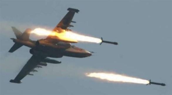 قصف جوي مجهول يستهدف أوباري الليبية (أرشيف)