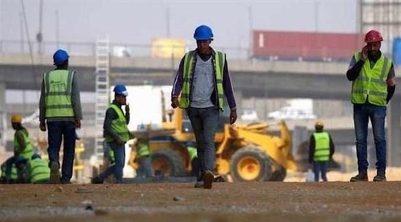 عمال منشآت في السعودية (أرشيف)