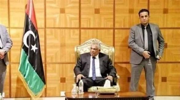 نائب رئيس الوزراء في حكومة الوحدة الوطنية الليبية حسين القطراني (أرشيف)
