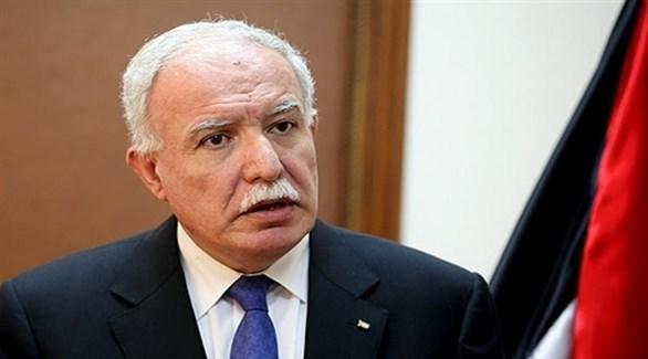 وزير الخارجية والمغتربين الفلسطيني رياض المالكي (أرشيف)