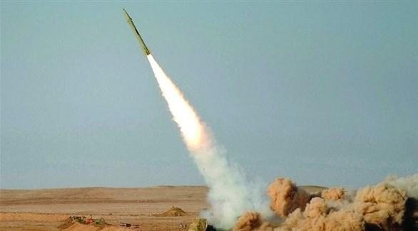 صاروخ أطلقته الميليشيا الحوثية (أرشيف)