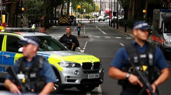 عناصر من الشرطة البريطانية (أرشيف)