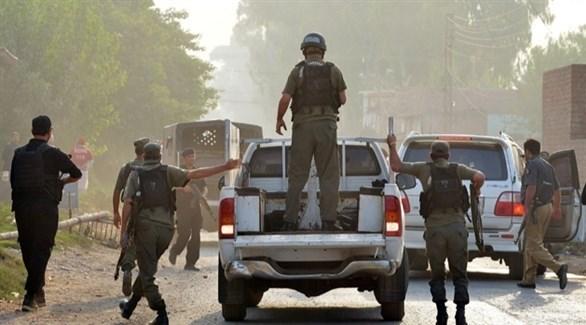 عناصر في الأمن الباكستاني (أرشيف)