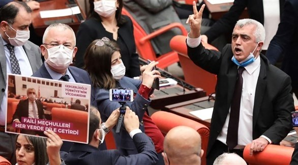 النائب التركي المعارض عمر فاروق غيرغيرلي (أرشيف)