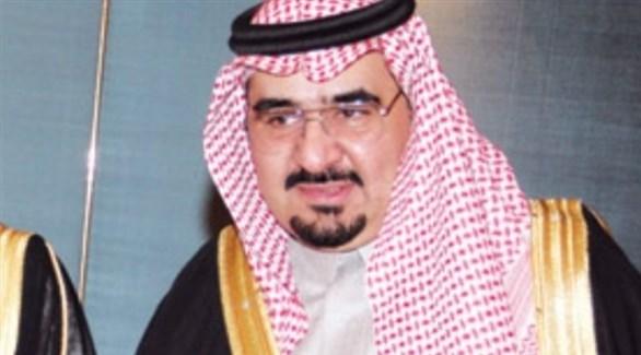 الأمير بدر بن فهد بن سعود الكبير آل سعود (أرشيف)