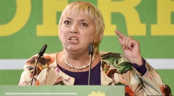 نائب رئيس البرلمان الألماني من حزب الخضر كلاوديا روت (أرشيف)