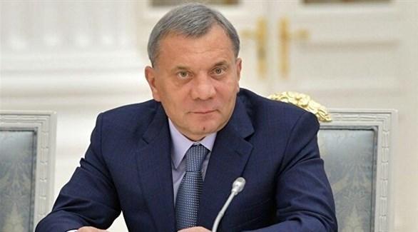 نائب رئيس الوزراء الروسي يوري بوريسوف (أرشيف)