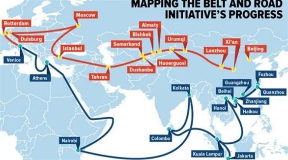 جانب من مبادرة الحزام وطريق الحرير الصينية (أرشيف)
