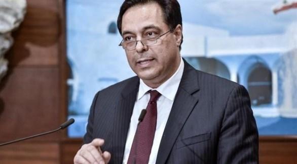 رئيس حكومة تصريف الأعمال في لبنان حسان دياب (أرشيف)