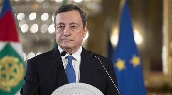 رئيس الوزراء الإيطالي ماريو دراغي (أرشيف)