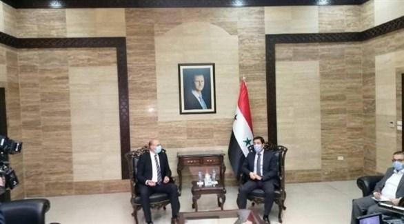 لقاء بين وزير الصحة اللبناني ونظيره السوري (أرشيف)