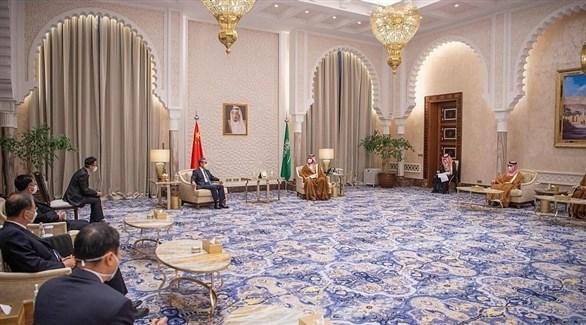 الأمير محمد بن سلمان يلتقي وزير الخارجية الصيني (أرشيف)